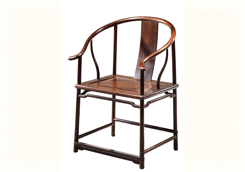 明式弓字档圈椅
