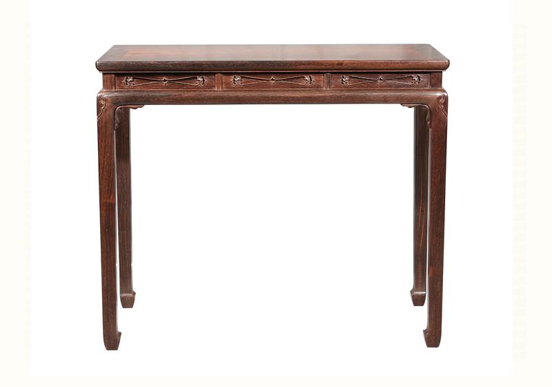 高束腰条桌