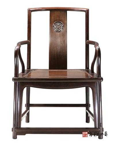 鲁班木艺:扇面形南官帽椅